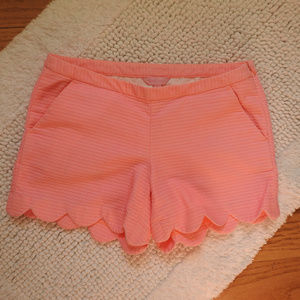 Lilly Pulitzer Pink Neon Buttercup Shorts Size 2